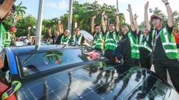 Größtes Solar-Rennen der Welt startet