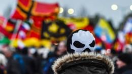 Pegida begeht dritten Jahrestag in Dresden