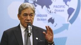 """Neuseelands Vize-Premier will """"Missverständnisse"""" klären"""