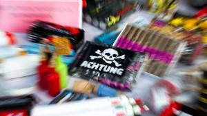 Immer wieder Verstöße bei Feuerwerks-Verkauf
