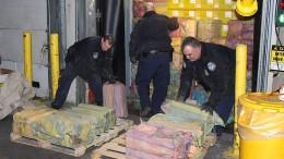 Zollbehörde entdeckt 1,5 Tonnen Kokain
