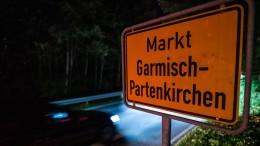 Leichte Entwarnung in Garmisch-Partenkirchen
