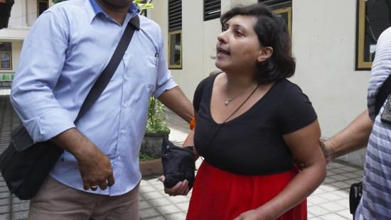 Britin wird auf Bali verhaftet
