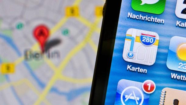 Google Maps kehrt zurück aufs iPhone