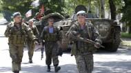 Rebellen fordern Rückzug der Vereinten Nationen