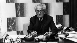 Frankfurt ehrt Juristen Fritz Bauer