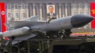 Amerika fordert beispiellose Sanktionen gegen Nordkorea