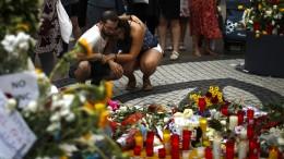 Barcelona erinnert an Anschlagsopfer