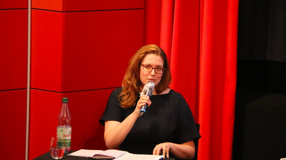 Filmpolitisch wach: Die Leiterin des Go East Festivals Heleen Gerritsen