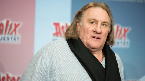 Gerard Depardieu ist der Genießer unter den Stars