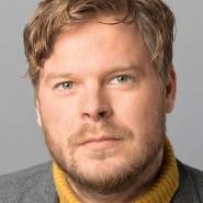 """Christoph Ehrhardt  - Portraitaufnahme für das Blaue Buch """"Die Redaktion stellt sich vor"""" der Frankfurter Allgemeinen Zeitung"""
