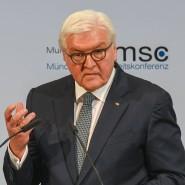Frankfurt-Walter Steinmeier am Freitag bei seiner Rede auf der Münchner Sicherheitskonferenz