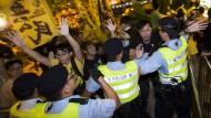 Festnahmen bei Protest gegen China