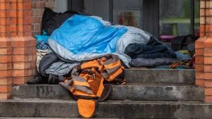 Regierung hat keine Statistik zu Obdachlosigkeit