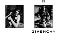 Givenchy-Models posieren mit Hauskatzen.