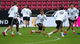 Deutsche Fußballer wollen gegen Estland nachlegen