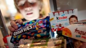 Nur Süßes und Fettiges für Kinder