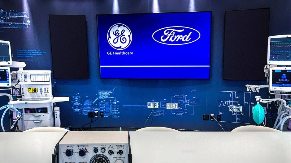 Ford will Beatmungsgeräte herstellen