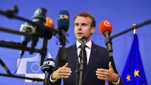"""Viel Lob für Macrons Appell für """"Neubeginn in Europa"""""""