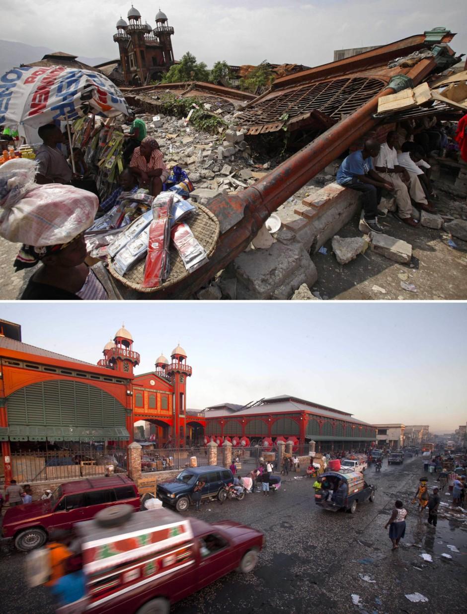 bildergalerie haiti erdbeben haiti nach dem erdbeben