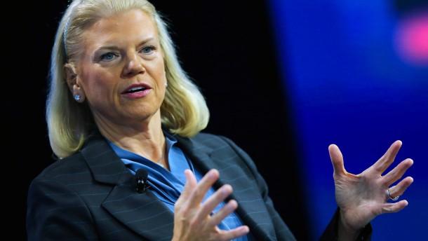 Chefin von IBM tritt zurück