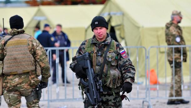 Slowenisches Parlament stimmt Militäreinsatz zu