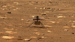 "Mars-Hubschrauber absolviert zehnten und ""bislang komplexesten"" Flug"