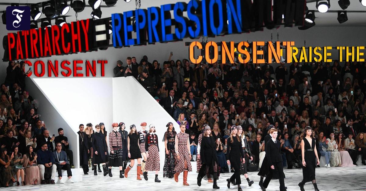 Paris Fashion Week: Sorry, das ist Poster-Feminismus