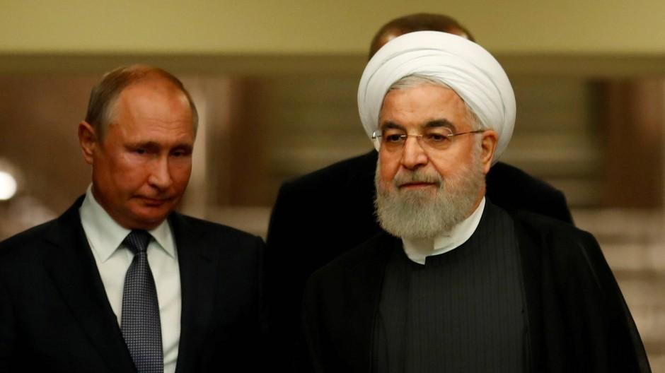 Wichtigster Rivale Putins in Syrien: Der iranische Präsident Rohani