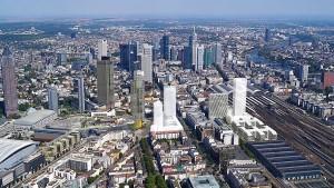 Am Hauptbahnhof wächst die Skyline