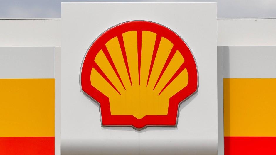 Das Logo des Ölkonzerns Shell, der durch das Bezirksgericht Den Haag zu einer deutlichen Reduktion seiner Co2-Emmissionen verpflichtet wurde.