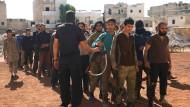 Rebellen trainieren in Aleppo für den Kampf gegen das Assad-Regime (Foto vom 26. Oktober).