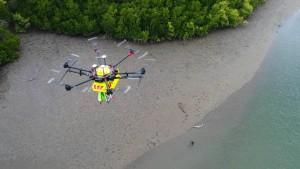 Drohne soll vor Krokodilen schützen