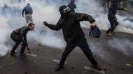 Frankreich: Krawalle bei Protesten gegen Arbeitsmarktreform