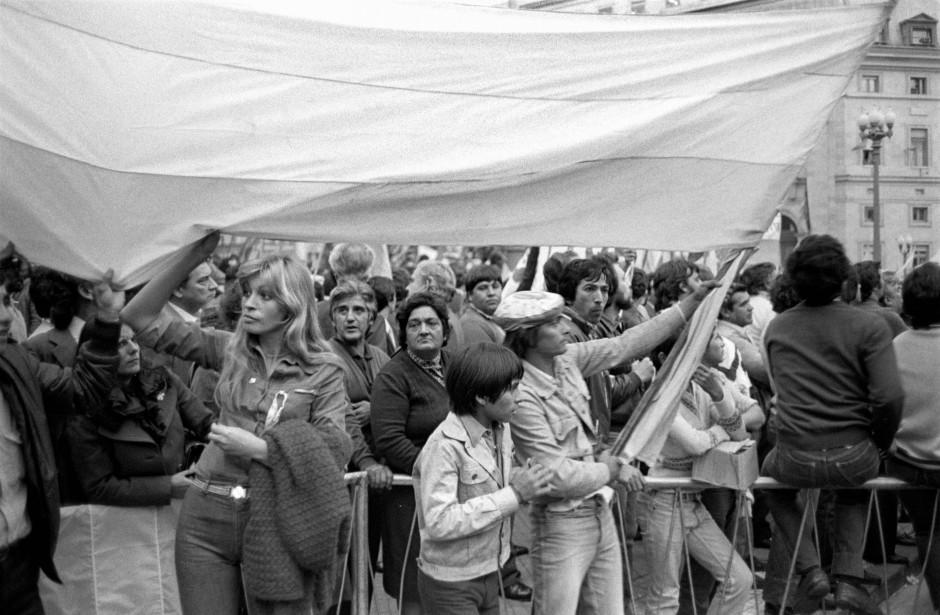 Am Anfang war die Euphorie groß: Kundgebung vor dem Regierungssitz in Buenos Aires im April 1982