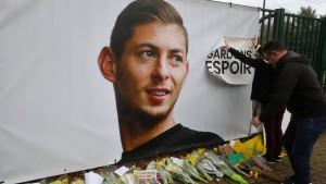 Suche nach Fußball-Profi Sala eingestellt