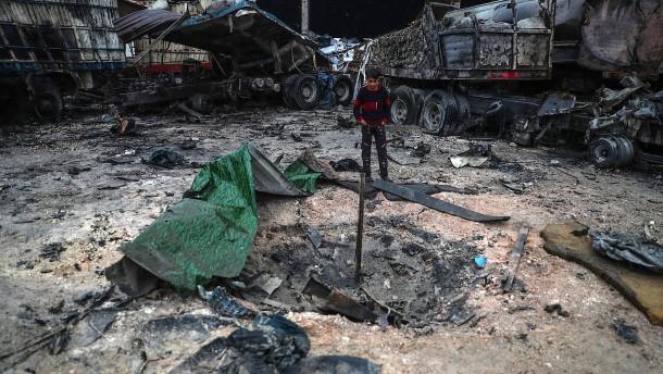 Laut Moskau rund 200 Kämpfer in Syrien getötet