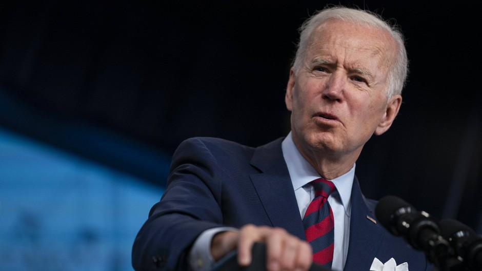 Amerikas Präsident Joe Biden