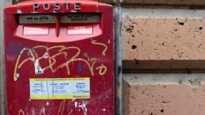 Italiens Post wird teilprivatisiert