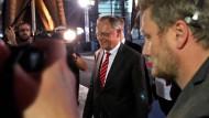 Wahlsieger im Fokus: SPD-Landeschef Weil am Sonntagabend in Hannover.