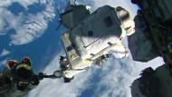 Astronauten haben nur 35 Minuten für Reparatur