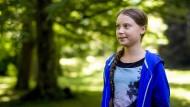 Greta Thunberg am Donnerstag in Genf