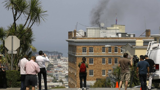 Diplomatische Rauchzeichen