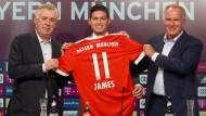 Das neueste Mitglied der Bayern-Familie: James Rodriguez wird von Real Madrid ausgeliehen, inklusive möglicher Kaufoption.