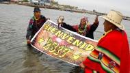 Schamanen sehen turbulentes Jahr 2017