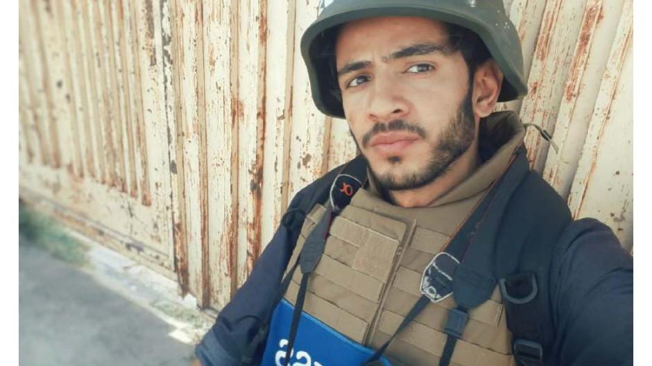 Die Taliban halten ihn in Herat in der Haft: Morteza Samadi.
