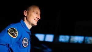 Vorfreude auf geplante Weltraummission