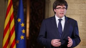 Puigdemont verzichtet auf Reise nach Madrid
