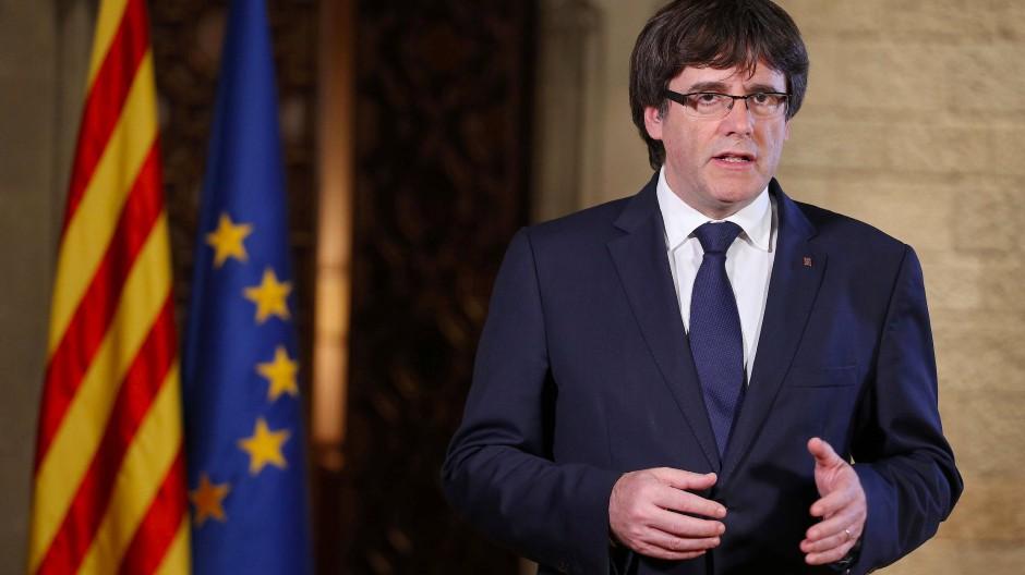 Reist nicht nach Madrid: Carles Puigdemont