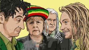 Fraktur: Mit Jamaika ist Deutschland in der Wortspiel-Hölle angekommen
